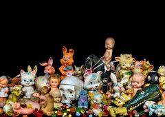 Dolls - Staged photography, vanity, stilllfe, fine art print, contemporary art