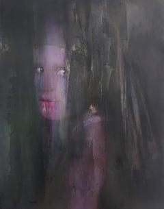 Vermeer - 21th, Contemporary Art, Figurative Art, Portrait, Female, Woman, Paint