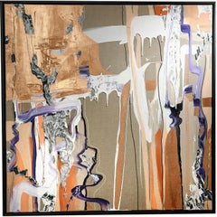 AQUA edition copper - abstract, expressive, Contemporary, minimalistic, 21stC