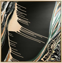 TERRA edition canyon of hope - abstract art, Contemporary, black, minimalistic