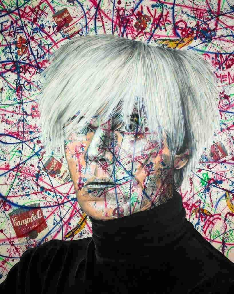The Andy Warhol Piece - Pop Art, Warhol, Popart Style, 21stC., Contemporary Art