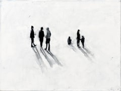 Better Place - Minimalist, Oil on Canvas, 21st Century,  Figurative Painting