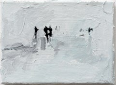 Raster 2 - Minimalist, Acrylic on Canvas, 21st Century,  Figurative Painting