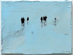 Raster 3 - Minimalist, Acrylic on Canvas, 21st Century,  Figurative Painting