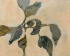 Astwerk_112- Minimalist, Acrylic, Resin on Wood, 21st Century, Floral Painting