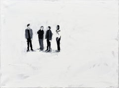 TBBT - Minimalist, Oil on Canvas, 21st Century, Figurative Painting,  Movie