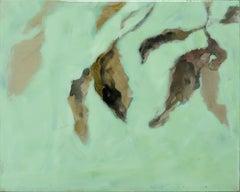 Astwerk_126- Minimalist, Acrylic, Resin on Wood, 21st Century, Floral Painting