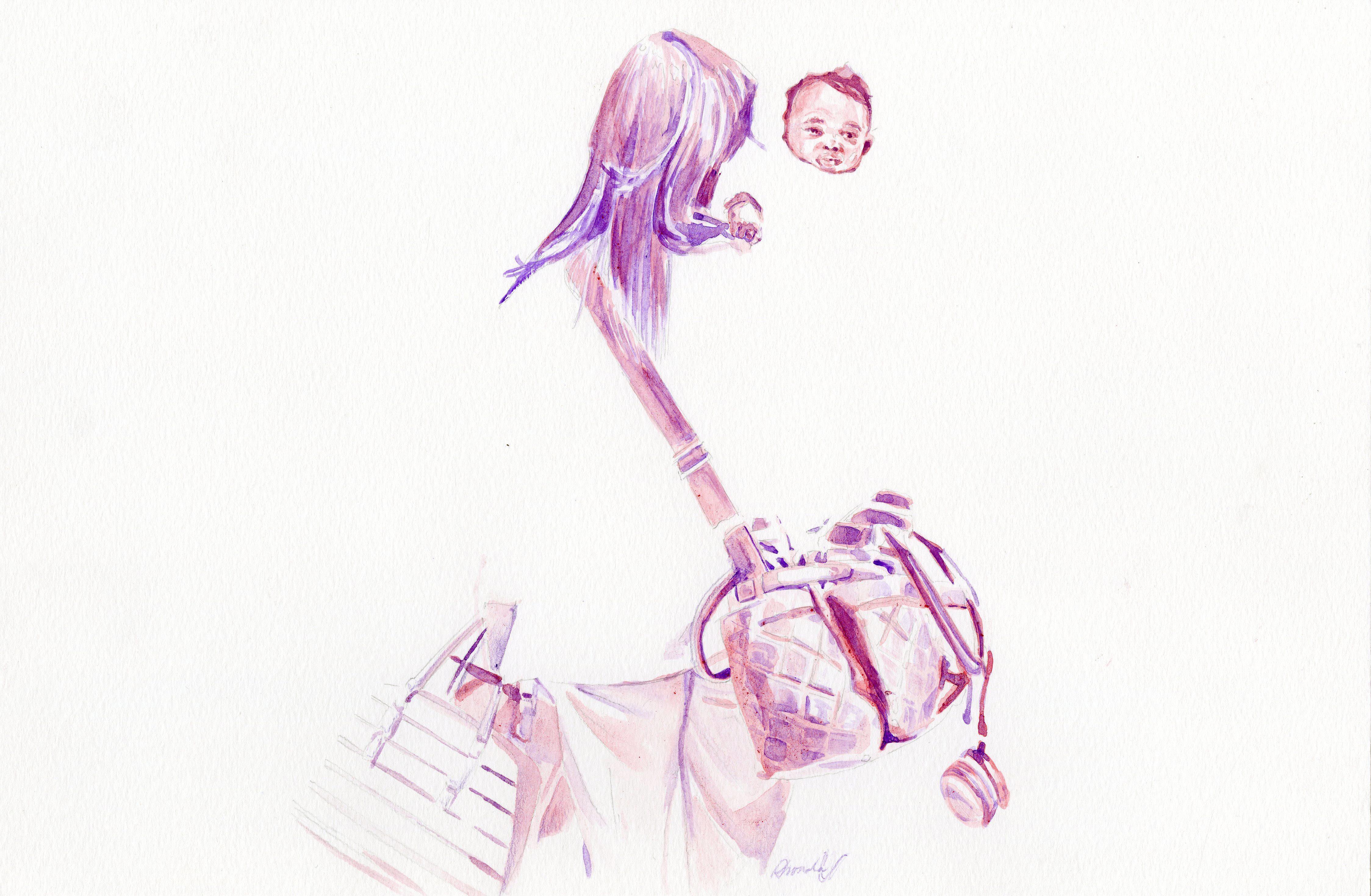 Baggage Claim (Sketch #4)