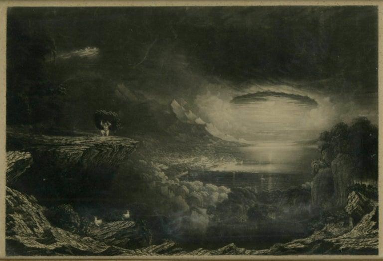 James G. Seymour Lucas Landscape Print - Samson Carrying off the Gates of Gaza