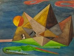 Surrealist Landscape Paintings