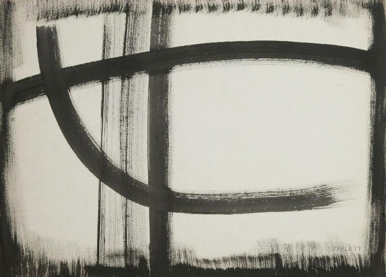Rolph Scarlett Abstract Drawing - Untitled (Abstraction)