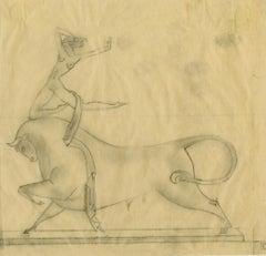 Preliminary study for Cretan Dancer bronze sculpture