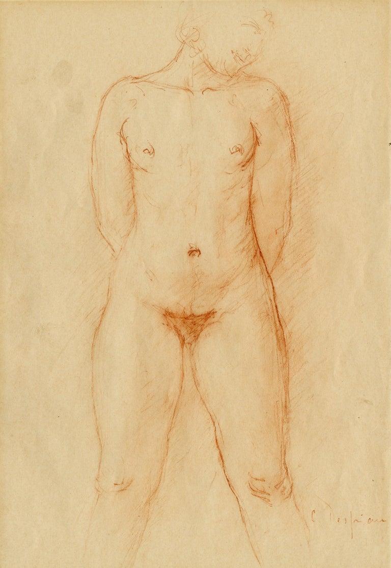 Nu (Standing Female Nude) - Art by Charles Despiau
