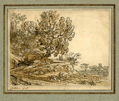Landscape with Figures in the English Countryside