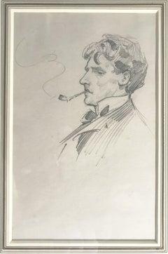Gentleman Smoking