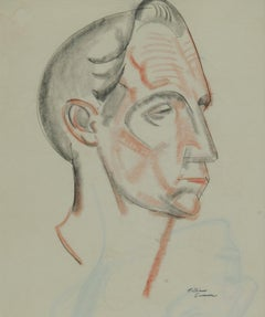 Head of a Man (recto) Sketch of a Man's Head (verso)