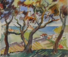 Trees Over the Vineyard
