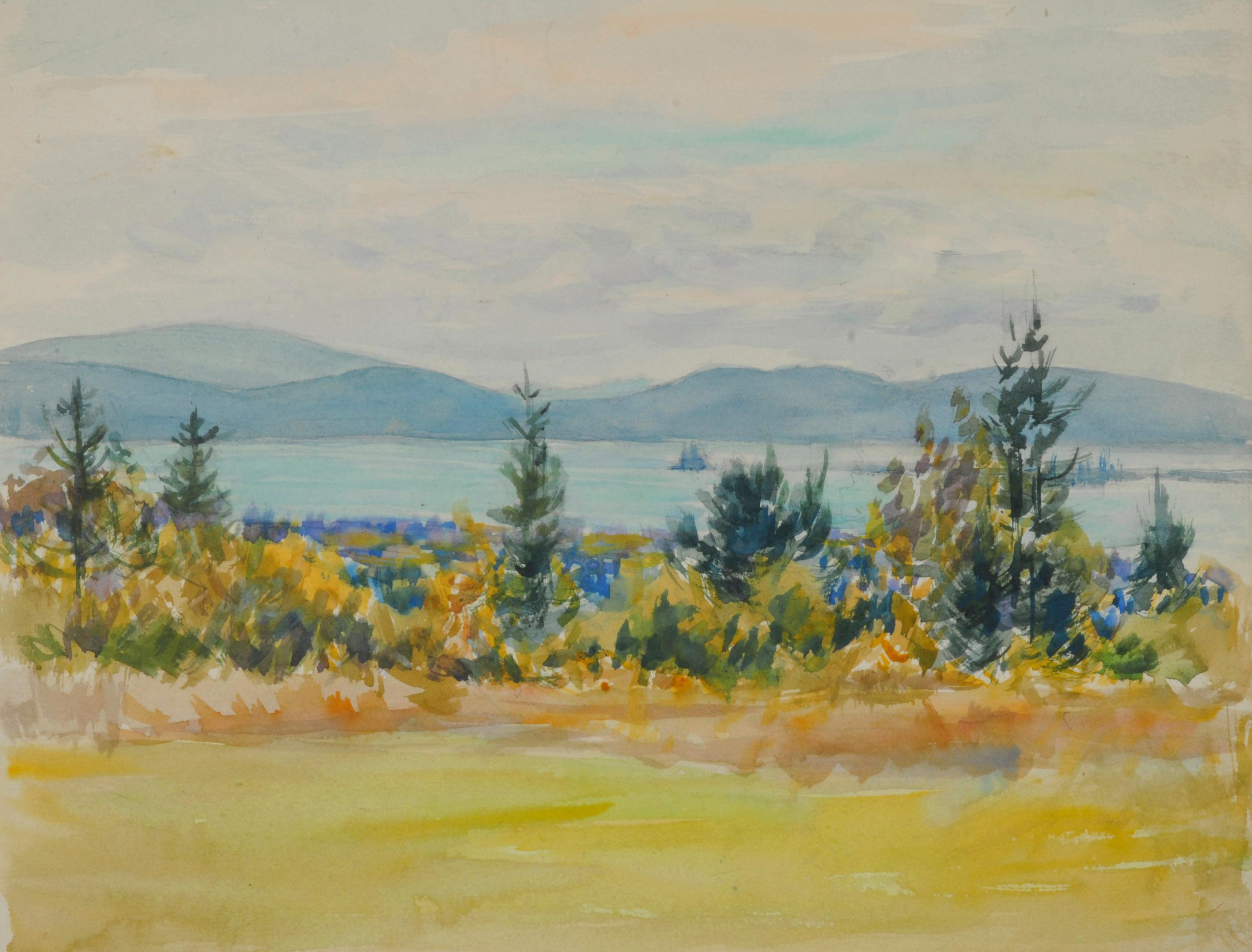 West Gouldsboro (Looking Across Mt. Desert Narrows)