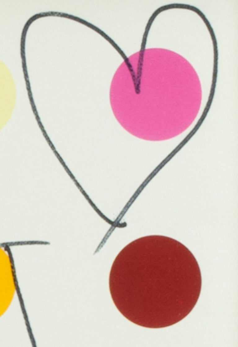 Butterfly and Heart - Abstract Art by Damien Hirst