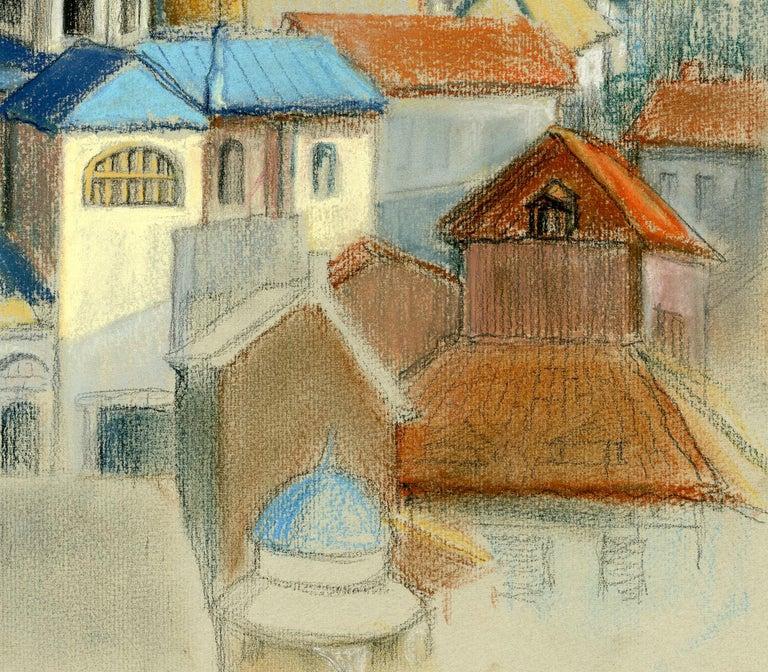 Italian Cityscape - Art by Victoria Hutson Huntley