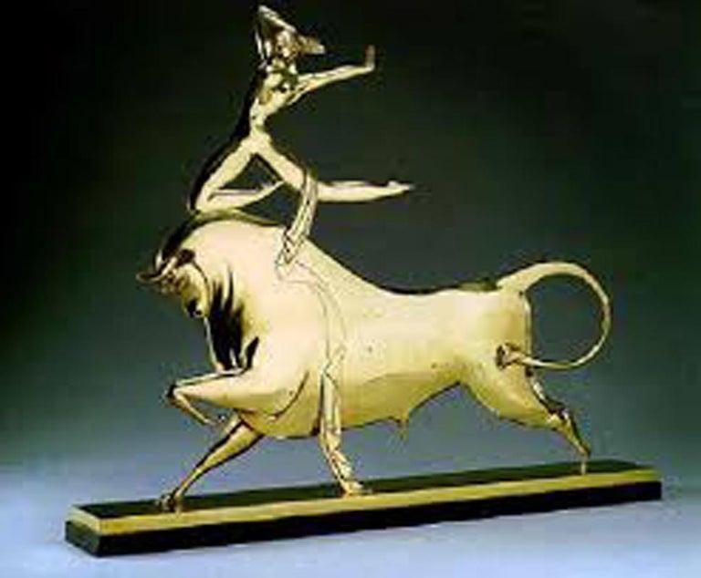 Preliminary study for Cretan Dancer bronze sculpture - Art by Boris Lovet-Lorski