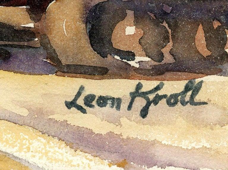 Signature Leon Kroll
