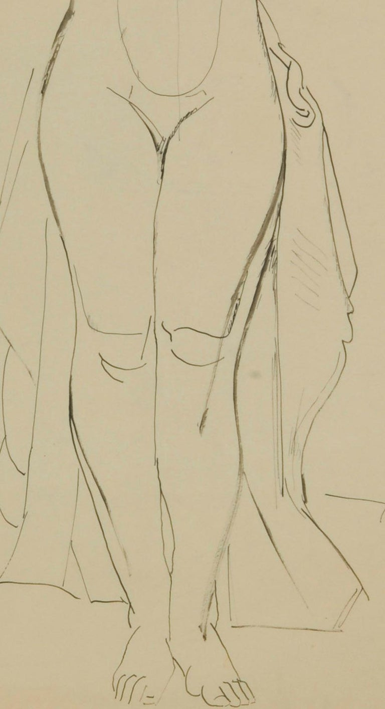 Standing Female Nude For Sale 1