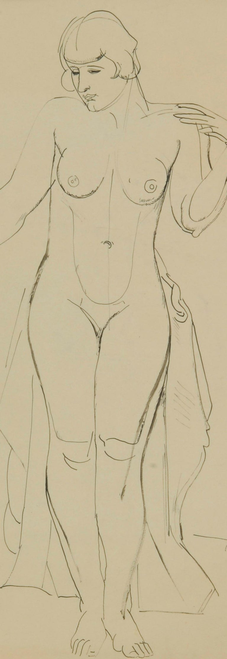 Standing Female Nude For Sale 2