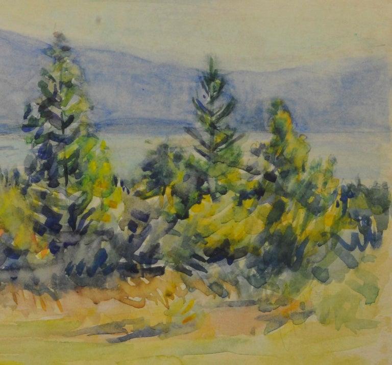 untitled (Maine Landscape near Mt. Desert Island) - Art by Greta Allen