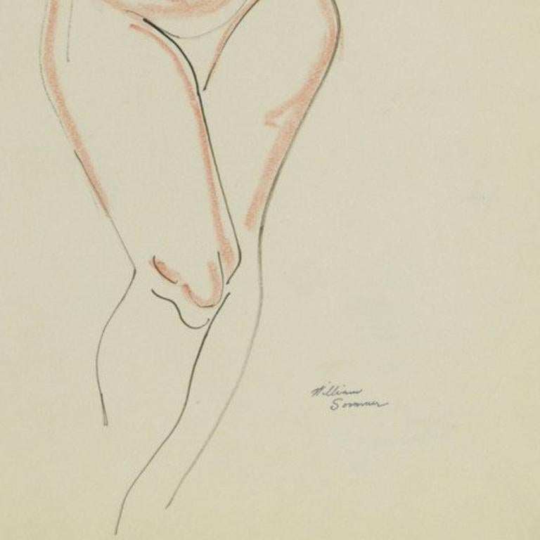 Nude, arms raised For Sale 3