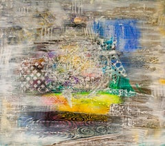 Cosmos - Painting, 21st Century, Abstract, Rainbow, Acrylic, Patterns, Swirl