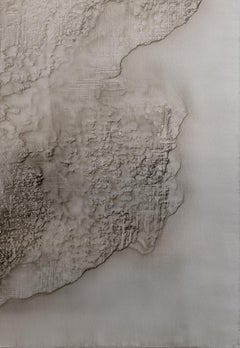 0620-05 - Painting, Aluminium, Oil, Abstract, 21st Century, Earth Tones