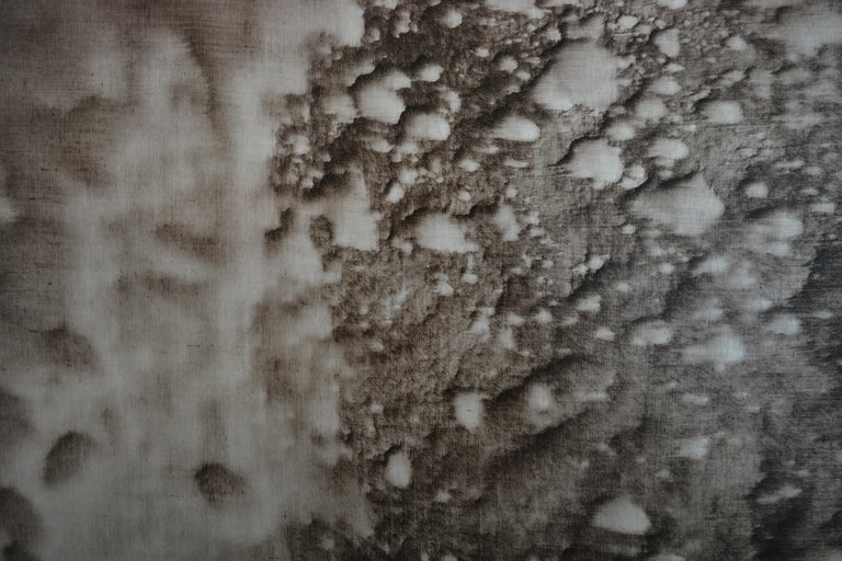 The works by Christo Daskaltsis are truly abstract. Titled only with the date of production, such as in this case 0620-02, the works are left open to interpretation by the viewer. The artist's methodology remains the same for each of his paintings.