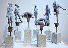 Lilliputian #21 by Rod Moorhead. Figurative sculpture.