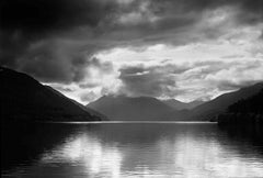 Lake Crescent by Clyde Butcher. Silver gelatin seascape photograph.