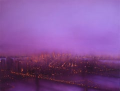 East River (New York) by Jenny Pockley. Original cityscape oil painting.