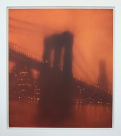 Brooklyn Bridge (New York) by Jenny Pockley. Original cityscape oil painting.