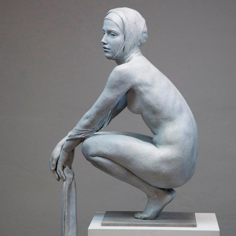 Coderch & Malavia. The Tissue of Time. Bronze figurative sculpture.  For Sale 2