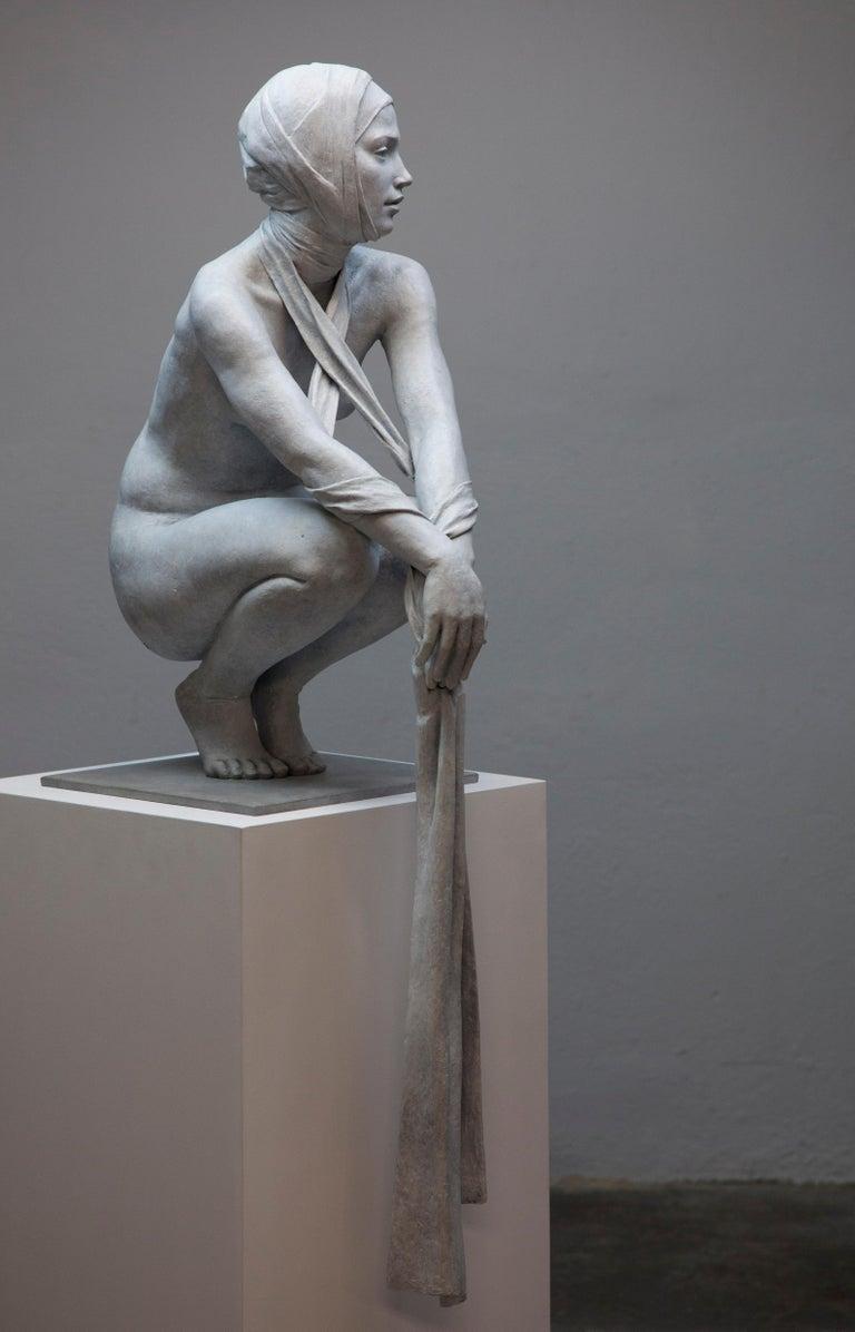 Coderch & Malavia. The Tissue of Time. Bronze figurative sculpture.  For Sale 3