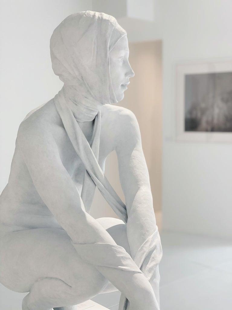 Coderch & Malavia. The Tissue of Time. Bronze figurative sculpture.  For Sale 4