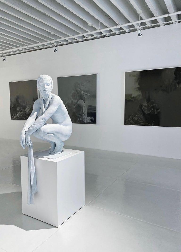 Coderch & Malavia. The Tissue of Time. Bronze figurative sculpture.  For Sale 5