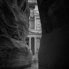 Hengki KOENTJORO. Petra 01 - Petra, Jordan. b&w photograph