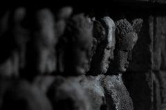 Hengki KOENTJORO. Buddha 02 Borobudur Temple,Java, Indonesia b&w photograph