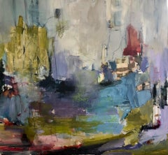 In the Deep, Abstract ,Acrylic   Women Painters