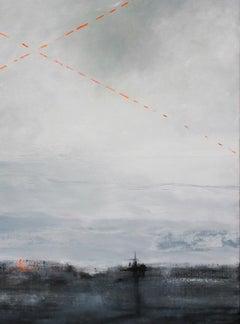 Danger , Contemporary Representational Art, Landscape,Canadian artist,