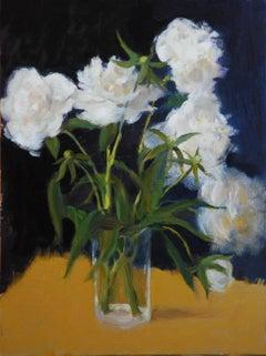 Peonies, American Impressionist Painter, Oil Painters of America,Still-Life