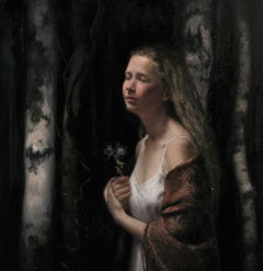 Yearning, oil painting,Classical Realism,Norweigan Artist, Florence Academy
