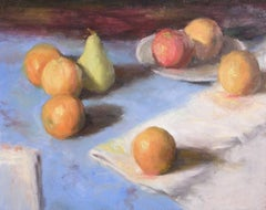 Oranges, American Impressionist Painter, Oil Painters of America,Still-Life