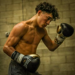 USA Boxer Steve Navarro,color photography, Boxing, Team Steve Navarro