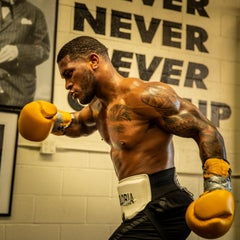USA Boxer, Kurt Scoby, Pro boxer, Color photography, Mayumi Ramirez
